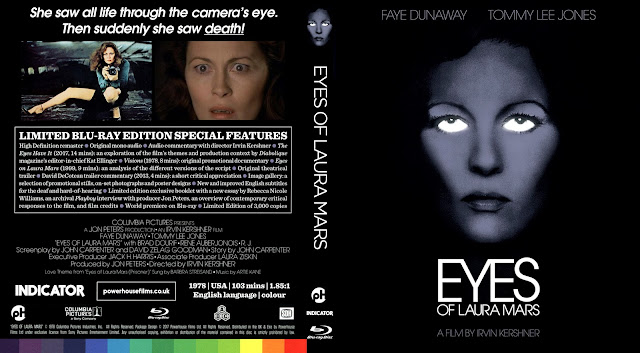 Eyes Of Laura Mars Bluray Cover