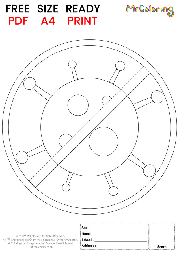 printable stop corona virus coloring pages 2