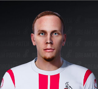 PES 2021 Faces Marius Wolf by Heywips