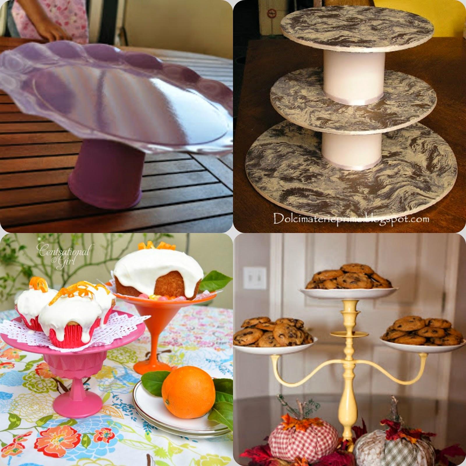 Idee dal web: alzatine per la tavola a buffet