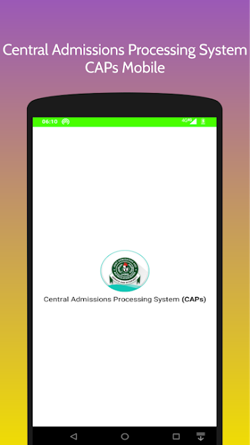 JAMB CAPS Mobile App Download | Monitor & Track Your Admission