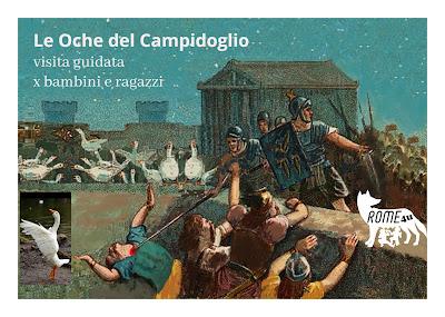 Le oche del Campidoglio e il Santo Bambino dell'Aracoeli - Visita guidata prenatalizia per bambini e ragazzi per scoprire il colle Capitolino fra storia e leggenda