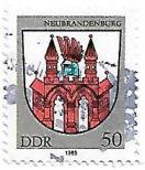 Selo Brasão de Neubrandenburg