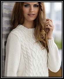 pulover svyazannii spicami (69)