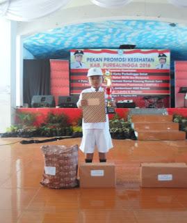 Hilman Juara III Menulis Artikel Kesehatan dalam rangka pekan Promosi Kesehatan Tingkat Provinsi Jawa Tengah