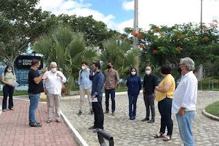 Campus Cuité recebe visita de novo Reitor e Vice-Reitor da UFCG
