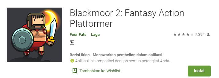 Game Platformer Terbaik untuk Android Blackmoor 2