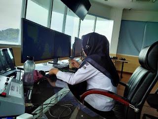 Pantauan VTS Merak :  Pelanggar Lalu Lintas di TSS Selat Sunda Semakin Minim
