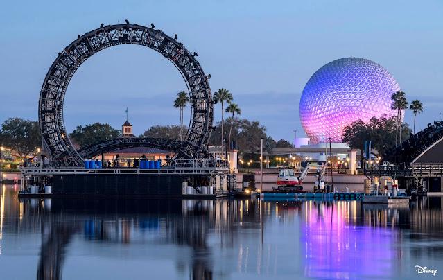 HarmonioUS-Show-Centerpiece-Begins-Testing-on-World-Showca, Walt Disney World Resort, EPCOT