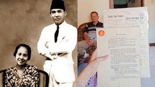 Waduh, Cucu Inggit Garnasih Sebut Soekarno Tak Pernah Tepati Janji Bayar Utang di Surat Cerai