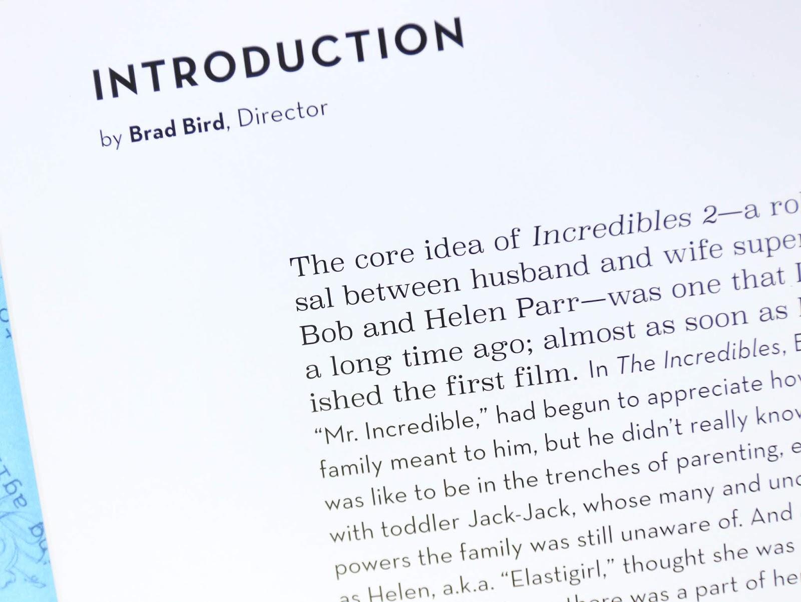 art of incredibles 2 inside look book review