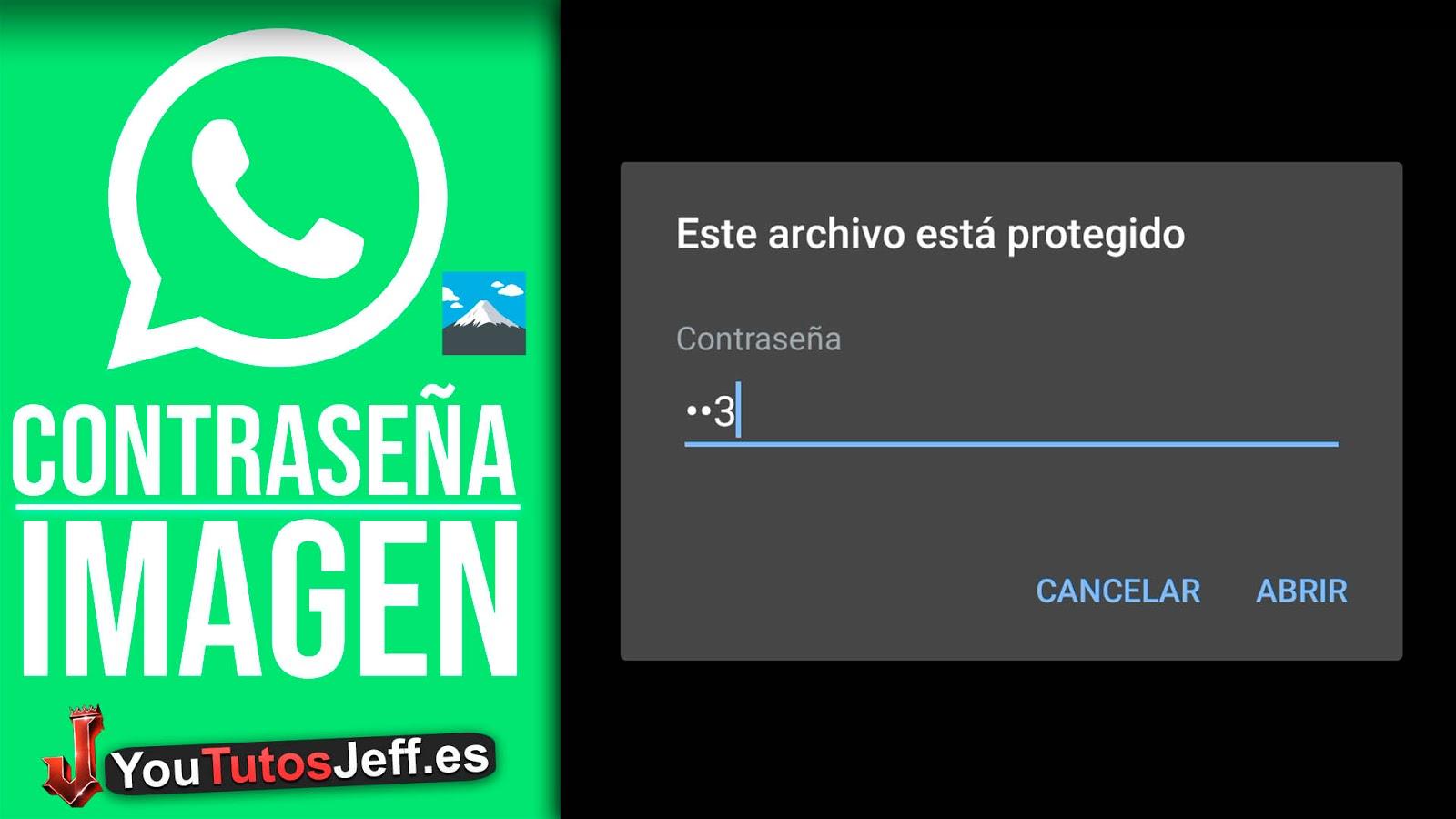 Como Enviar Fotos con Contraseña en Whatsapp