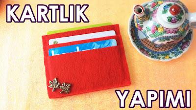 keçeden cüzdan yapımı