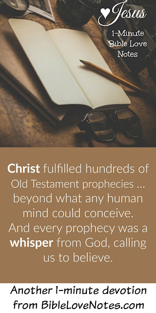 prophetic whispers from God about Jesus
