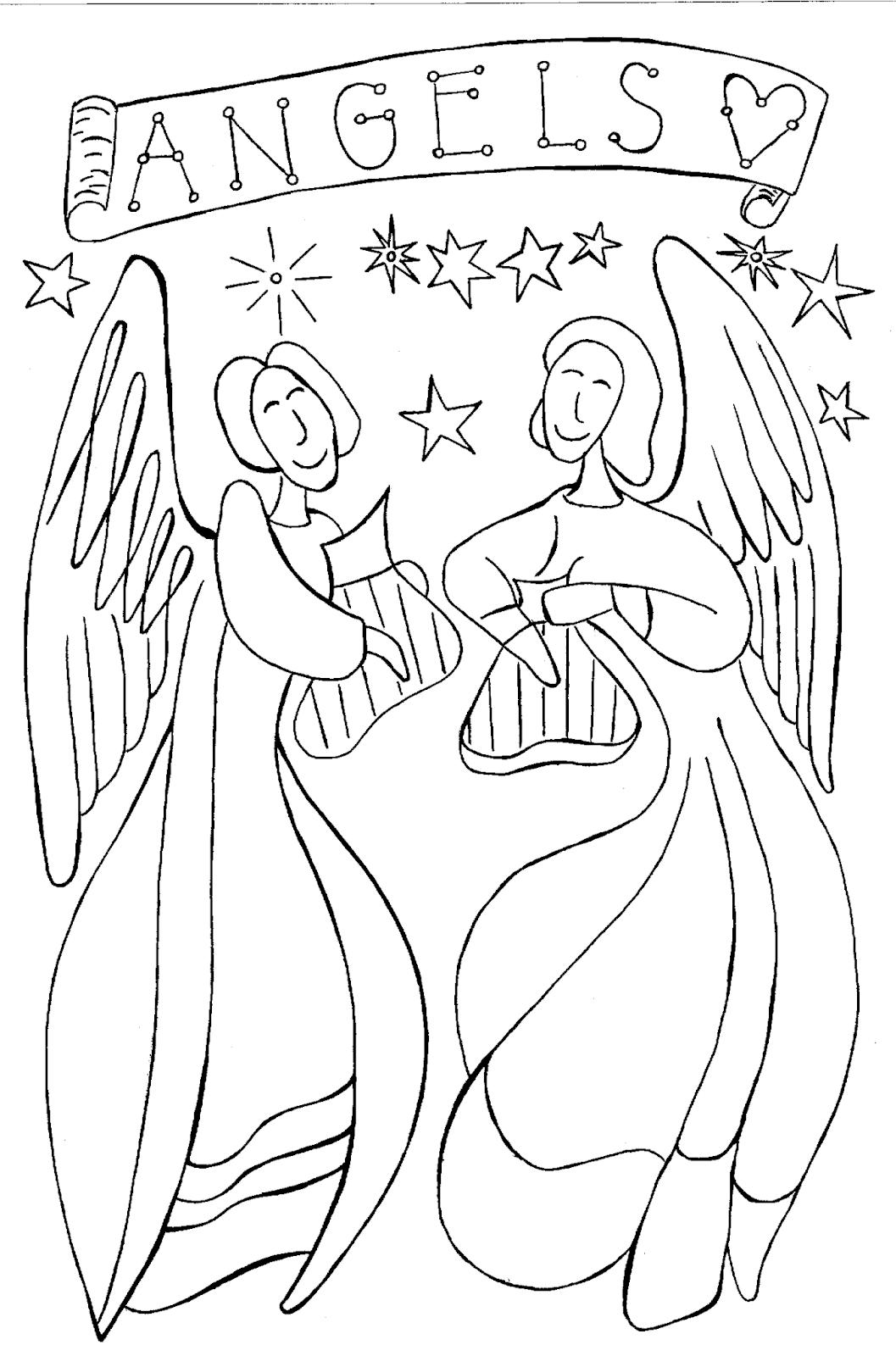 Engelbilder Engel Malen Acryl