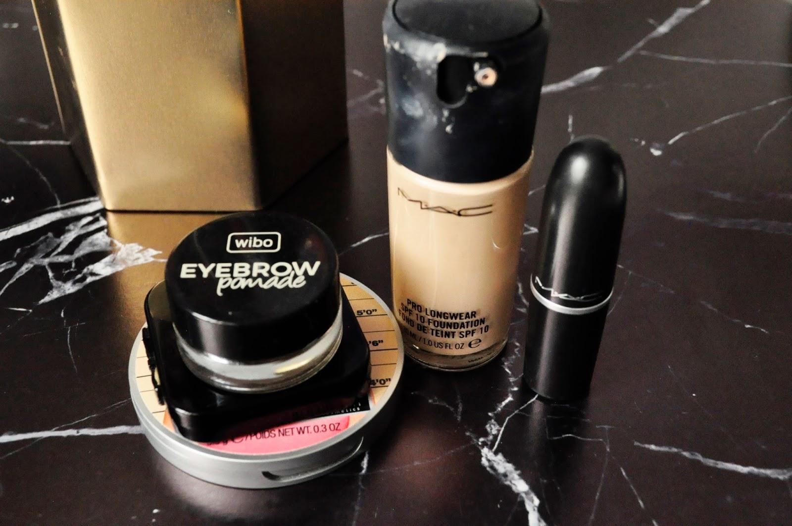 TAG: 3 kosmetyki bez których nie wyobrażam sobie życia | MAC Cosmetics  Wibo