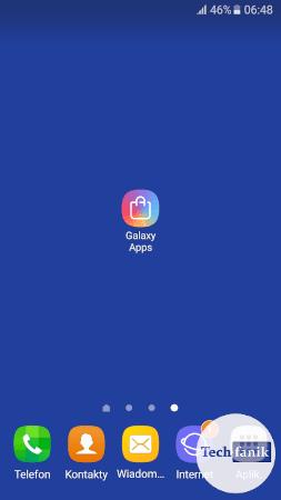 Skrót do Galaxy Apps