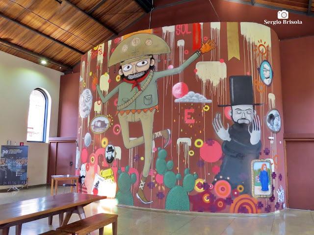Vista do Grafite no interior da Cinemateca Brasileira - Vila Clementino - São Paulo