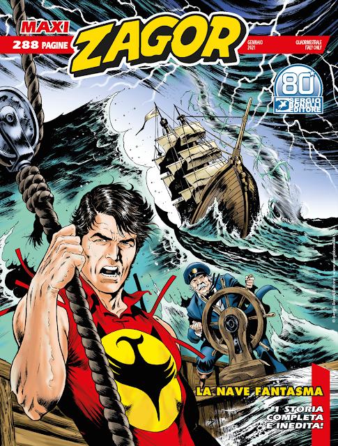 Zagor la nave fantasma recensione