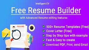 Aplikasi Resume Builder APP Free CV Maker