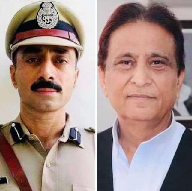 IPS Sanjiv Bhatt Azam Khan