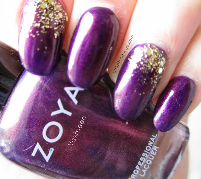 Zoya Yasmeen swatch, nail polish, @girlythingsby_e