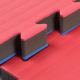 puzzle interlocking mats Greatmats martial arts mats