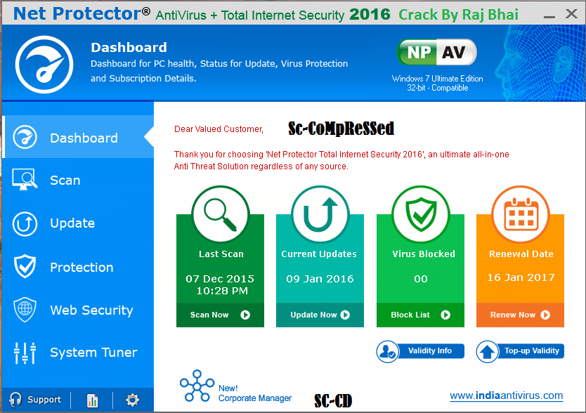 net protector 2014 with crack