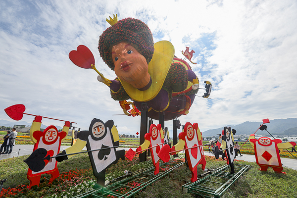 2020新社花海暨台中國際花毯節「愛麗絲的花境探險」精彩不容錯過