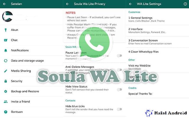 Soula WhatsApp Lite Terbaru