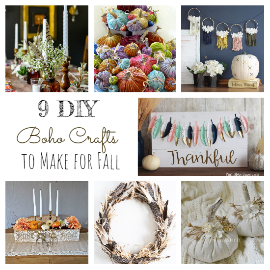 DIY Boho Fall Decor