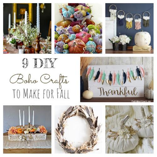 9 DIY Boho Crafts to Make For Fall