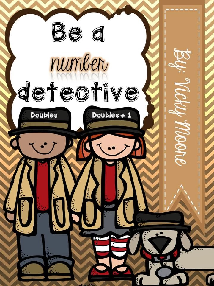 http://www.teacherspayteachers.com/Product/Doubles-and-Doubles-1-Be-a-number-detective--1051384