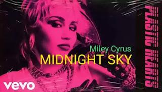 Midnight Sky Lyrics - Miley Cyrus
