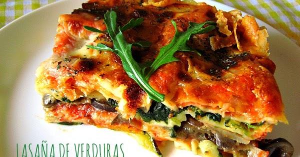 C mo hacer una lasa a de verduras light receta f cil y - Calorias boquerones en vinagre ...