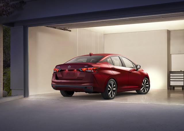 2020 Nissan Versa Sedan - rear