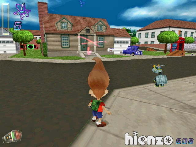 Jimmy Neutron: Boy Genius Games
