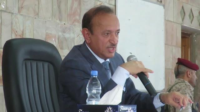 الكشف عن أول جهة متهمة  في محاولة اغتيال محافظ تعز الدكتور امين محمود اليوم بعدن