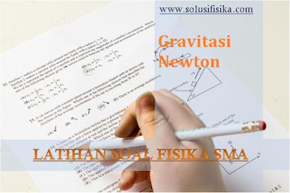 Latihan Soal Gravitasi Newton