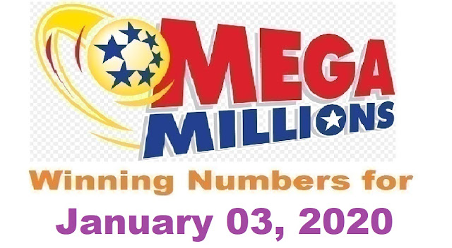 Mega Millions Winning Numbers for Friday, January 03, 2020