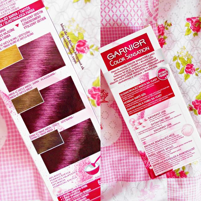 Farba na vlasy Garnier Color Sensation Deep Amethyste recenzia