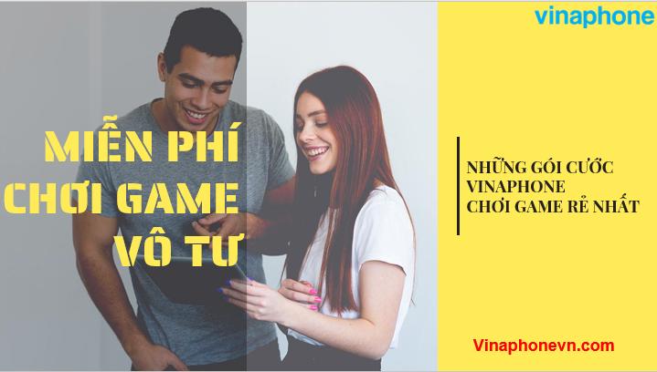 gói cước chơi game của VinaPhone