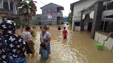 Ribuan Rumah Terendam Banjir di Binjai, Walikota Langsung Turun ke Lokasi