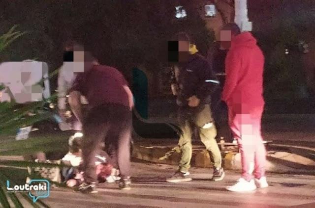 Τραυματίας γυναίκα που παρασύρθηκε από μηχανάκι στο Λουτράκι