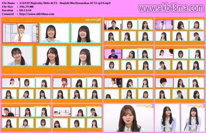 210329 Nogizaka Skits ACT2