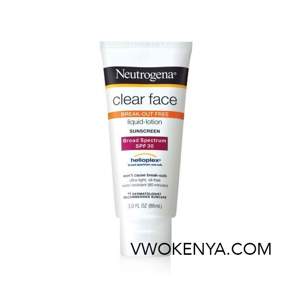 Kem chống nắng Neutrogena Clear Face Break-Out Free Lotion SPF 55