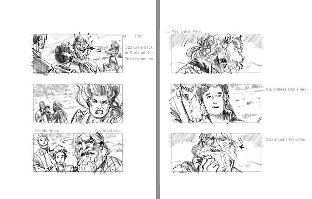 Kip and the Ice Man #storyboard