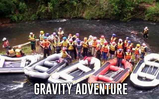 tempat rafting at bandung selatan pangalengan gravity adventure