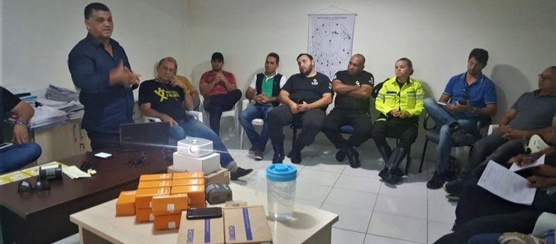 """STTRANS participa de um curso de capacitação para implantação do """"Talonário Eletrônico"""""""