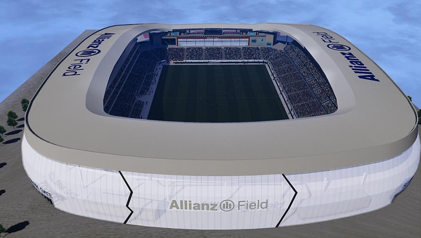 Stadium Allianz Field For eFootball PES 2021